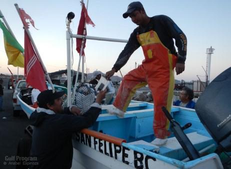 La participación de los pescadores fue crítica para alcanzar las metas de la investigación.