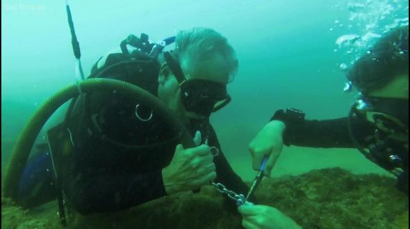 Asegurando el agarre del sensor