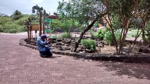Octavio at Estacion Darwin