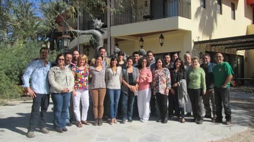 Asistentes al taller sobre diseño de redes de reservas celebrado en La Paz, B.C.S. Foto: TNC