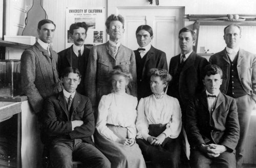 Founding members of WSN at the first meeting in San Diego dates back to 1904. Photo courtesy of Scripps Institution of Oceanography (SIO).